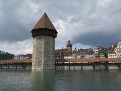Wooden Bridge, Luzern, Switzerland